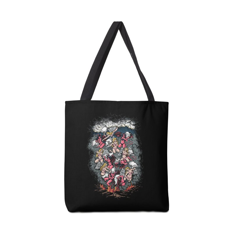 Good vs. Evil Accessories Bag by Threadless Artist Shop