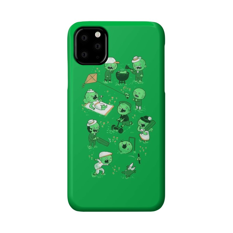 Lawn of the Dead Accessories Phone Case by Threadless Artist Shop