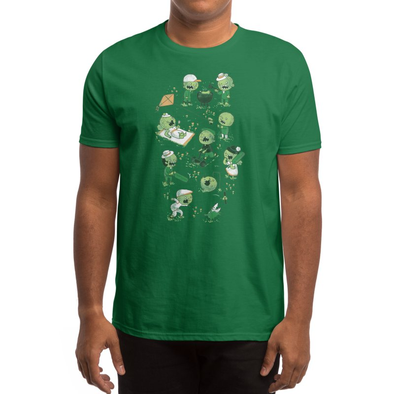 Lawn of the Dead Men's T-Shirt by Threadless Artist Shop