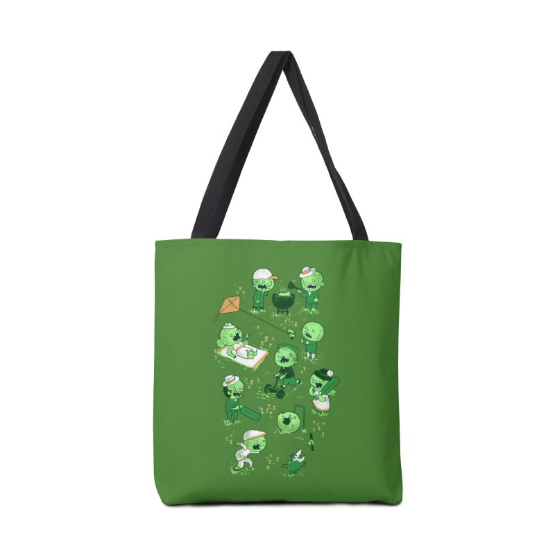 Lawn of the Dead Accessories Bag by Threadless Artist Shop