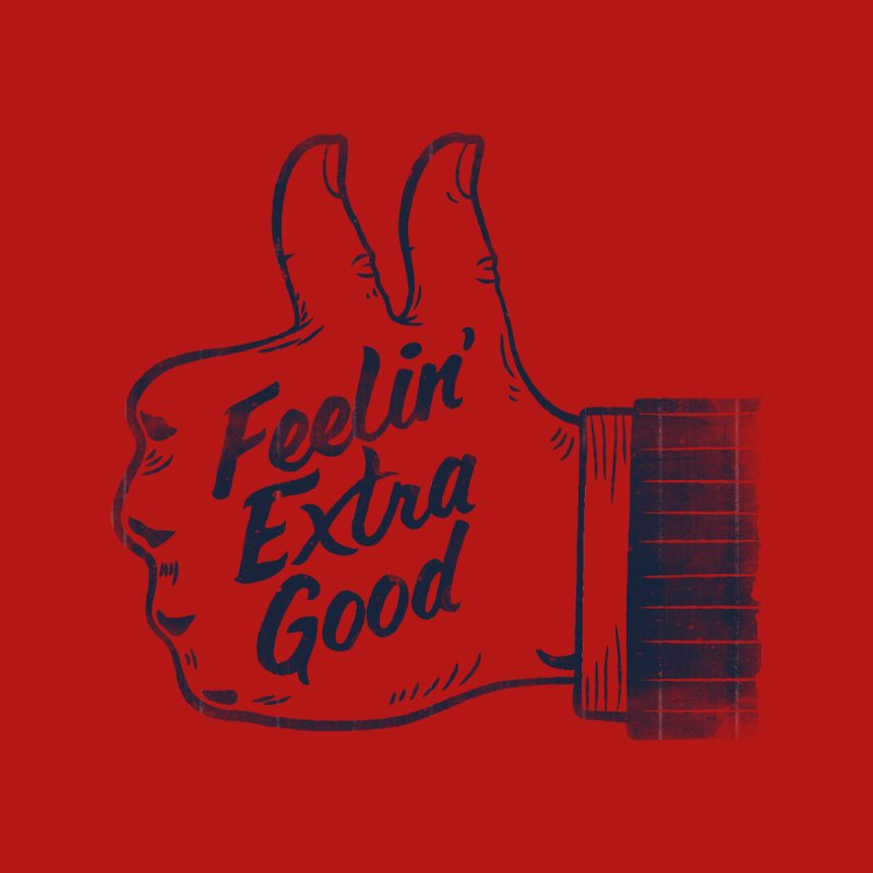 Double Thumbs Accessories Bag by Threadless Artist Shop