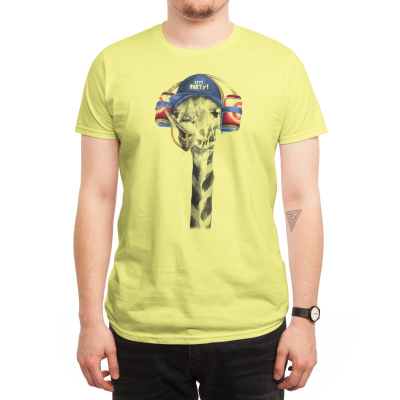 Let's Party Men's T-Shirt by Threadless Artist Shop