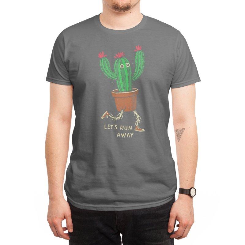 Let's run away Men's T-Shirt by Threadless Artist Shop