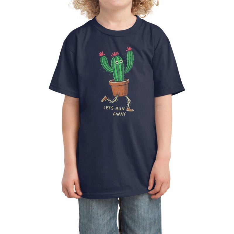 Let's run away Kids T-Shirt by Threadless Artist Shop