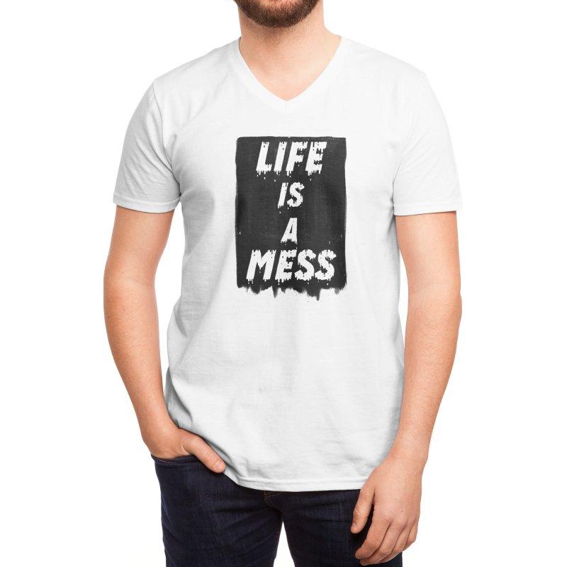 Life Men's V-Neck by Threadless Artist Shop