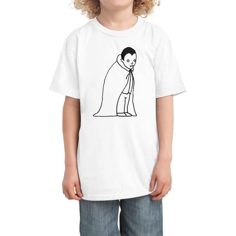 Little Dracula Kids T-Shirt by Threadless Artist Shop