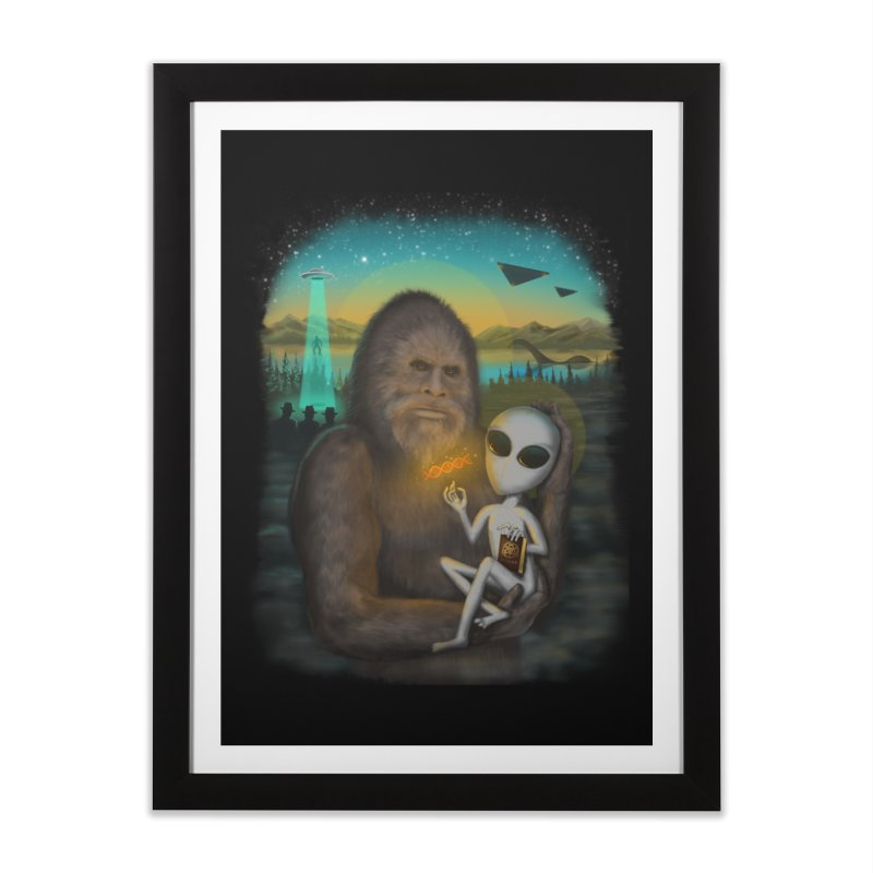I Want To Believe - Andy Pitts Home Framed Fine Art Print by Threadless Artist Shop