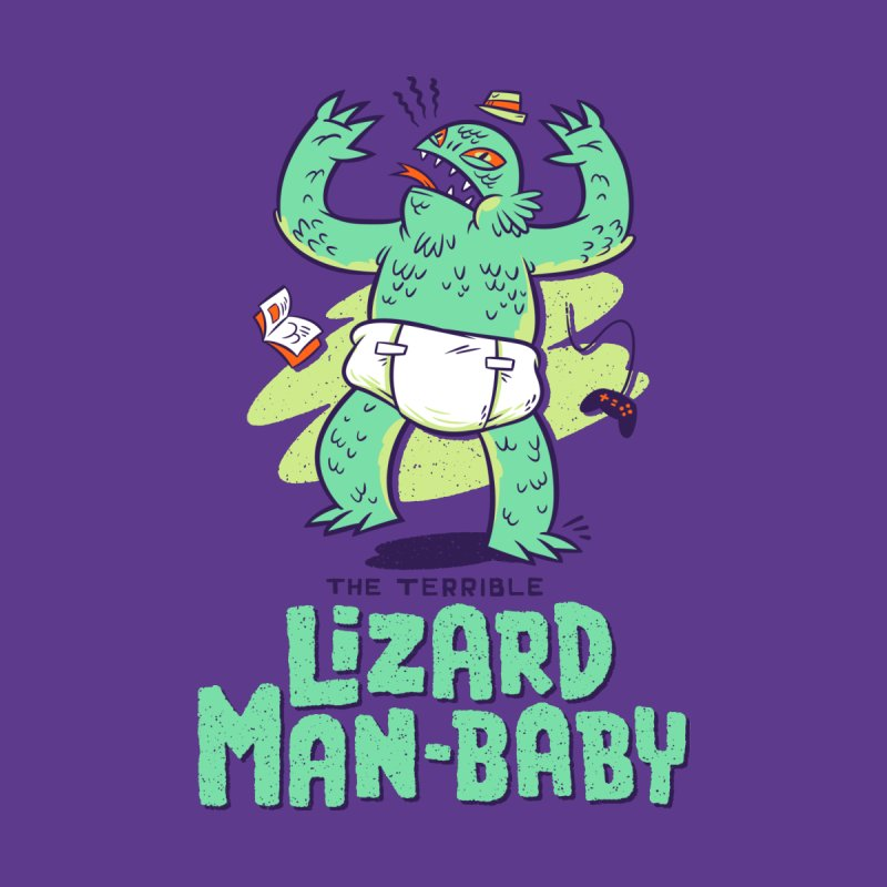 Lizard Man-Baby Men's T-Shirt by Threadless Artist Shop