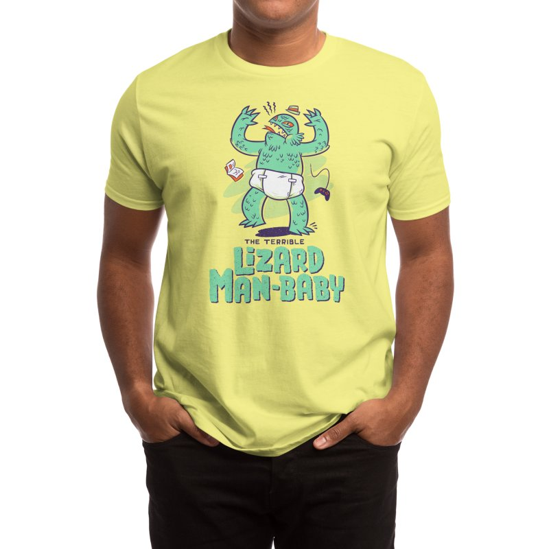 Lizard Man-Baby Men's T-Shirt by Threadless Artist Shop