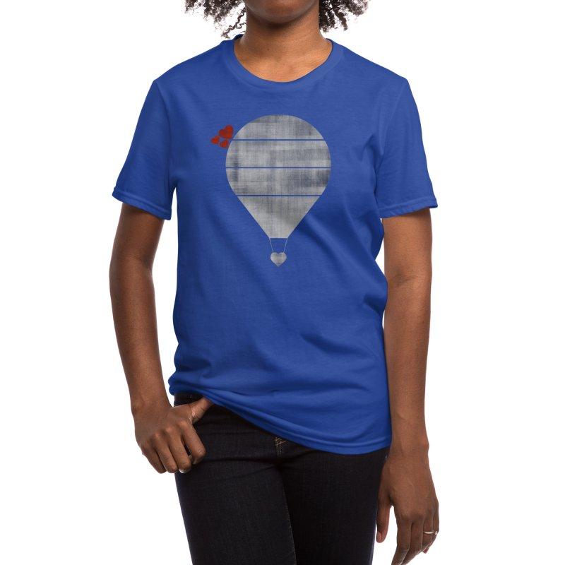 Love Is In the Air Women's T-Shirt by Threadless Artist Shop
