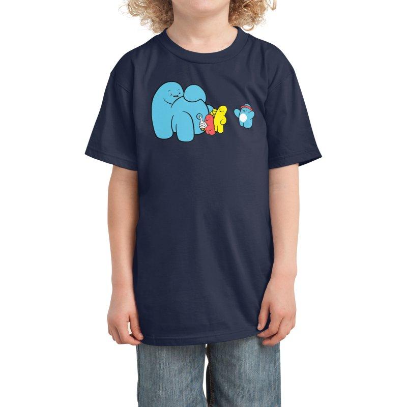 Ice Cream Mann Kids T-Shirt by Threadless Artist Shop