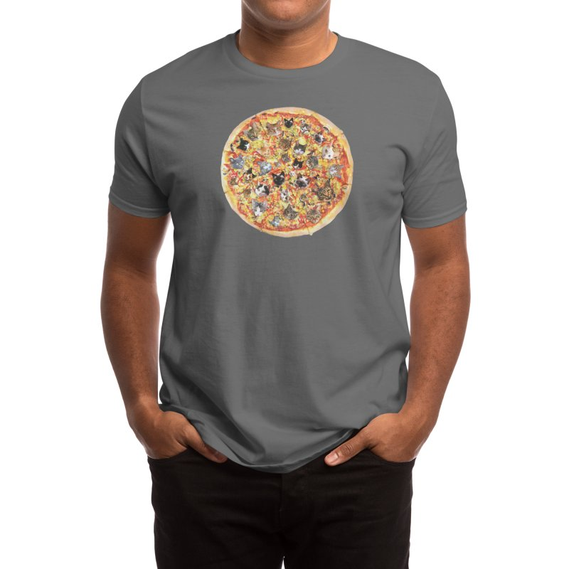 If the Internet Was a Pizza Men's T-Shirt by Threadless Artist Shop
