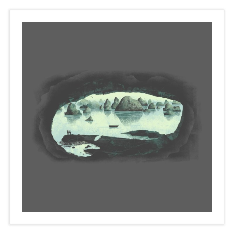 In the Belly of a Beast Home Fine Art Print by Threadless Artist Shop