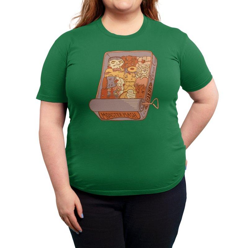 Monster Mash Women's T-Shirt by Threadless Artist Shop