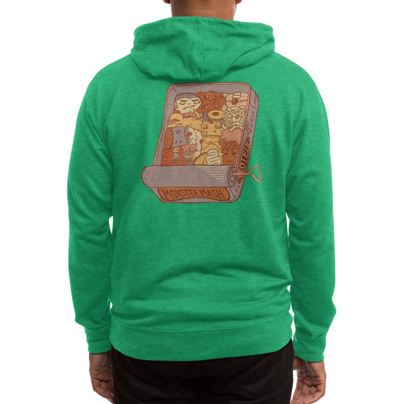 Monster Mash Men's Zip-Up Hoody by Threadless Artist Shop