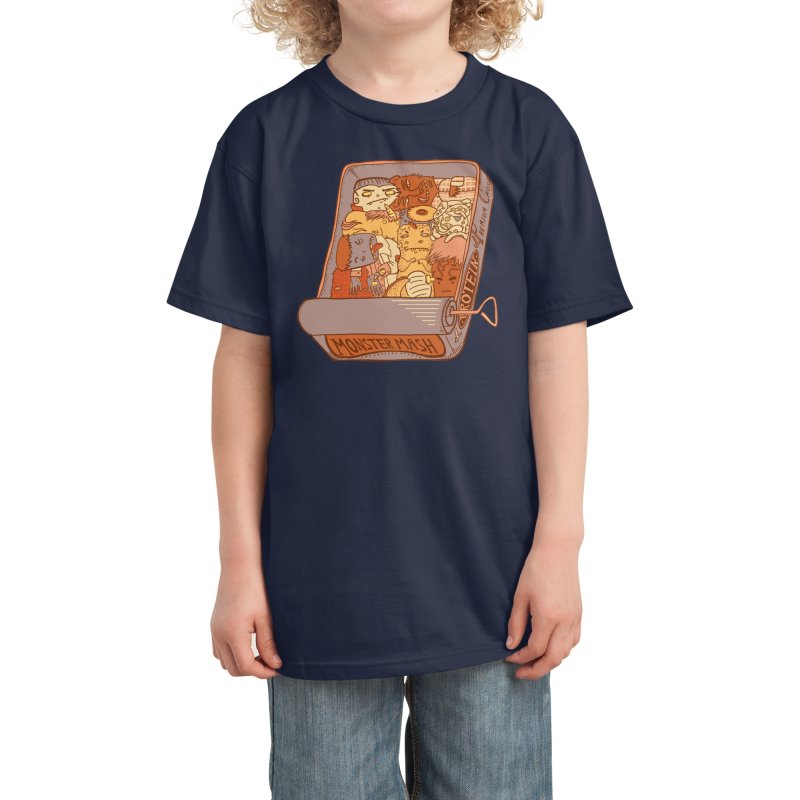 Monster Mash Kids T-Shirt by Threadless Artist Shop