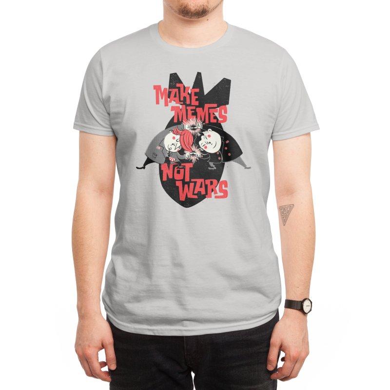 Make Memes, Not Wars Men's T-Shirt by Threadless Artist Shop
