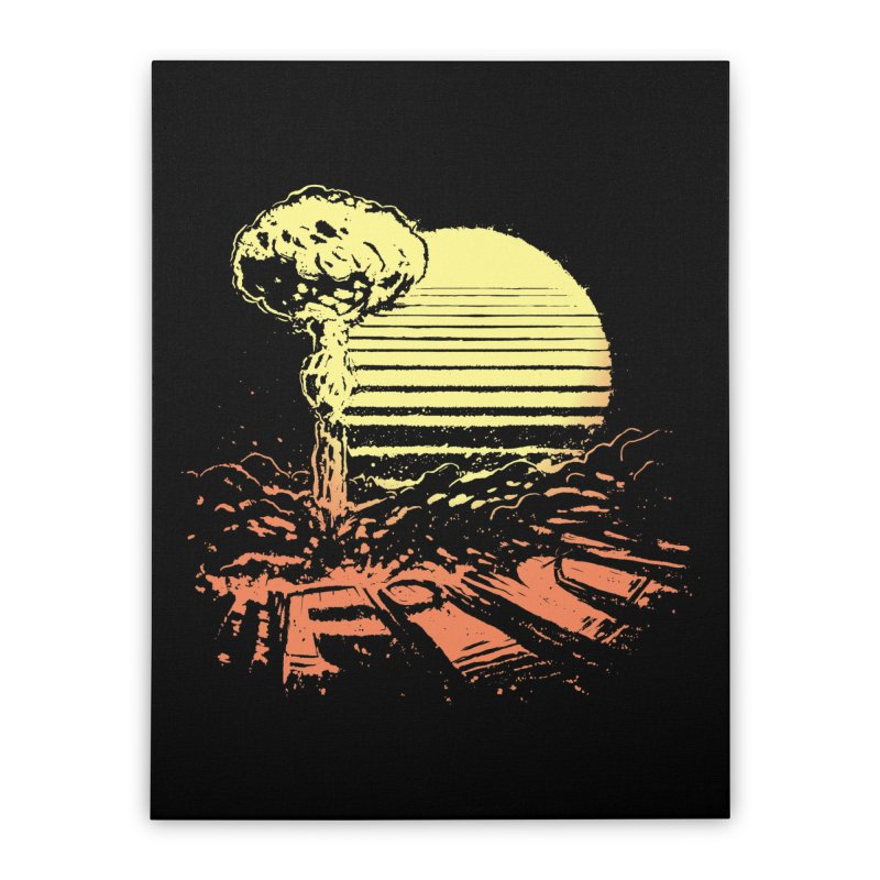 Fin - Mitch Loidolt Home Stretched Canvas by Threadless Artist Shop