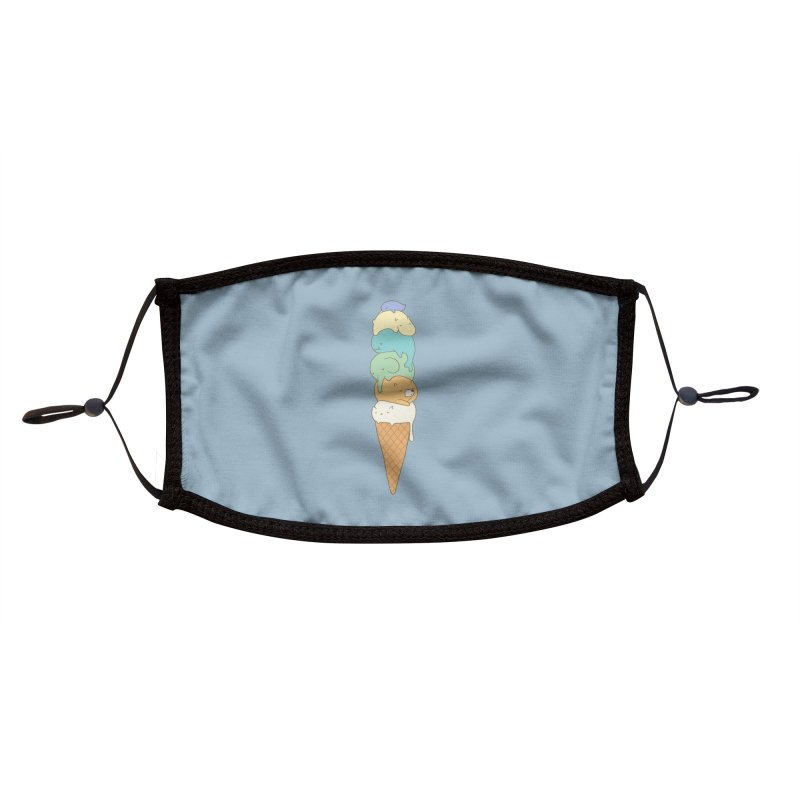 Melting Accessories Face Mask by Threadless Artist Shop