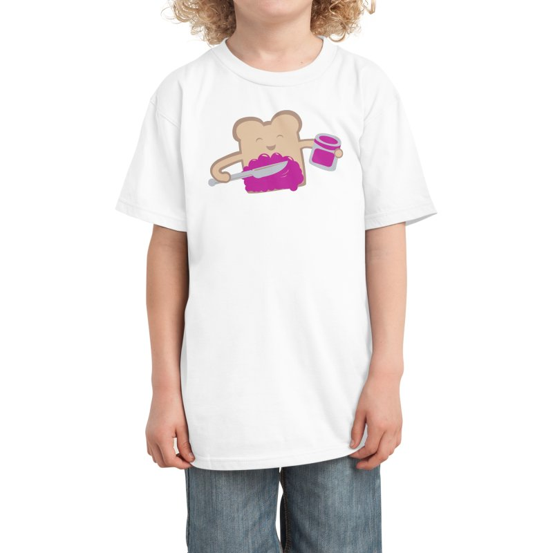 mmmh.. Delicious Kids T-Shirt by Threadless Artist Shop