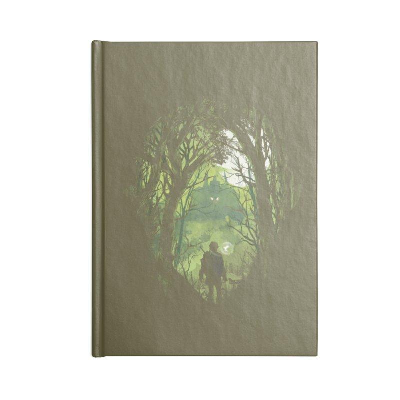 It's Dangerous to Go Alone - Dan Elijah Fajardo Accessories Notebook by Threadless Artist Shop