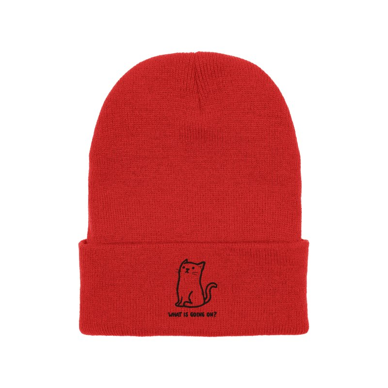 What Is Going On? Accessories Hat by Threadless Artist Shop