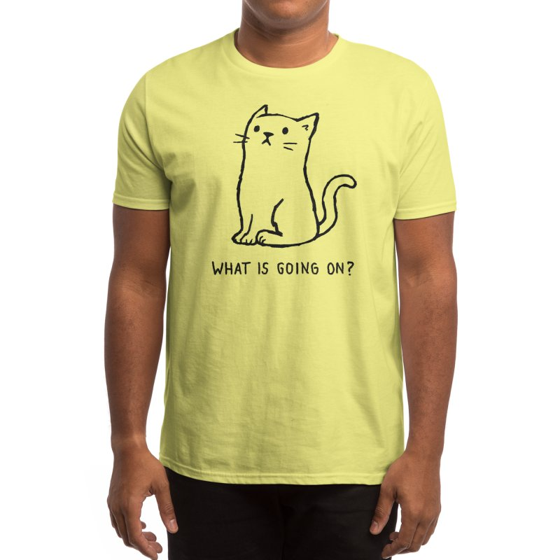 What Is Going On? Men's T-Shirt by Threadless Artist Shop