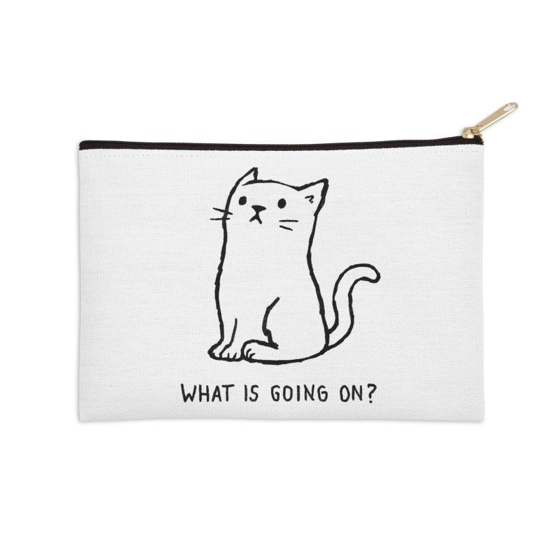 What Is Going On? Accessories Zip Pouch by Threadless Artist Shop