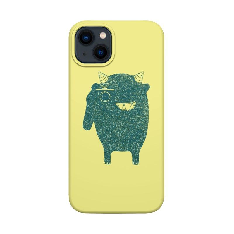 Monster Photographer Accessories Phone Case by Threadless Artist Shop