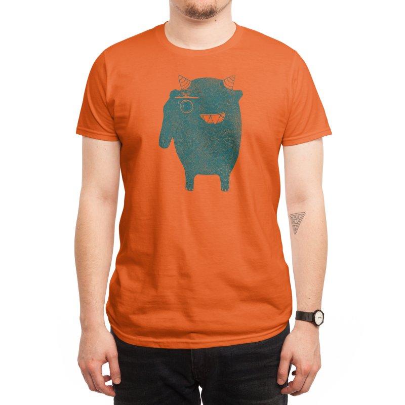 Monster Photographer Men's T-Shirt by Threadless Artist Shop