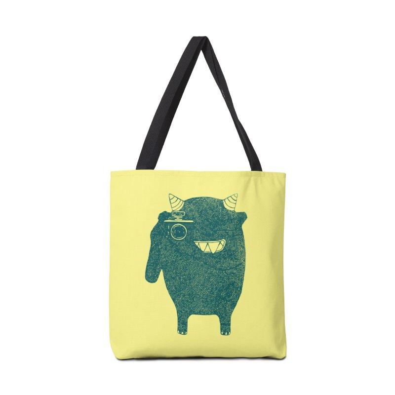 Monster Photographer Accessories Bag by Threadless Artist Shop
