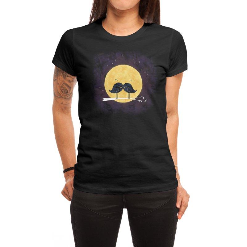 Moonstache Women's T-Shirt by Threadless Artist Shop