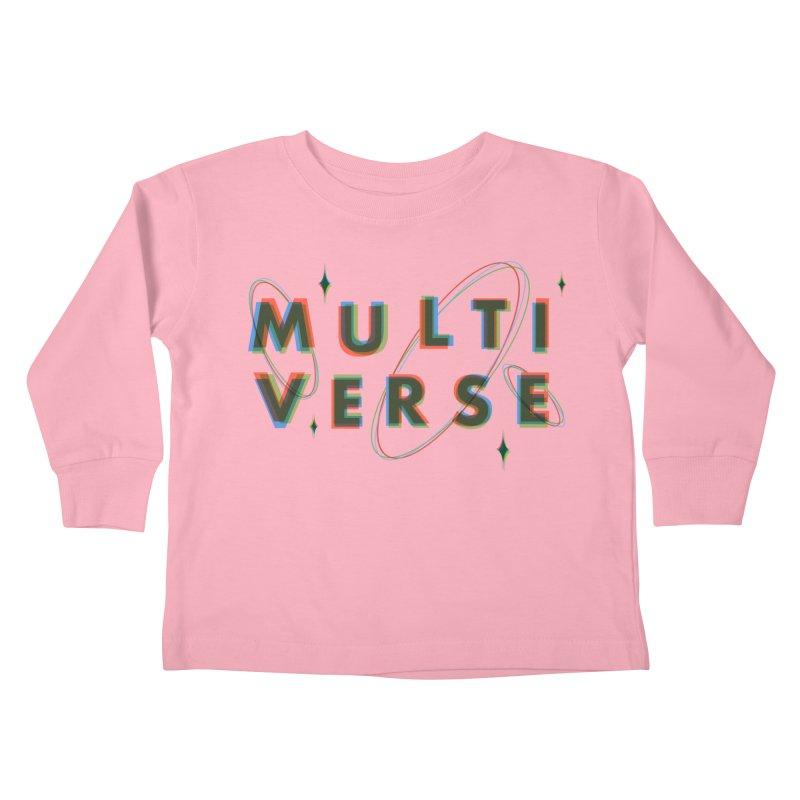 Multi-Verse Kids Toddler Longsleeve T-Shirt by Threadless Artist Shop