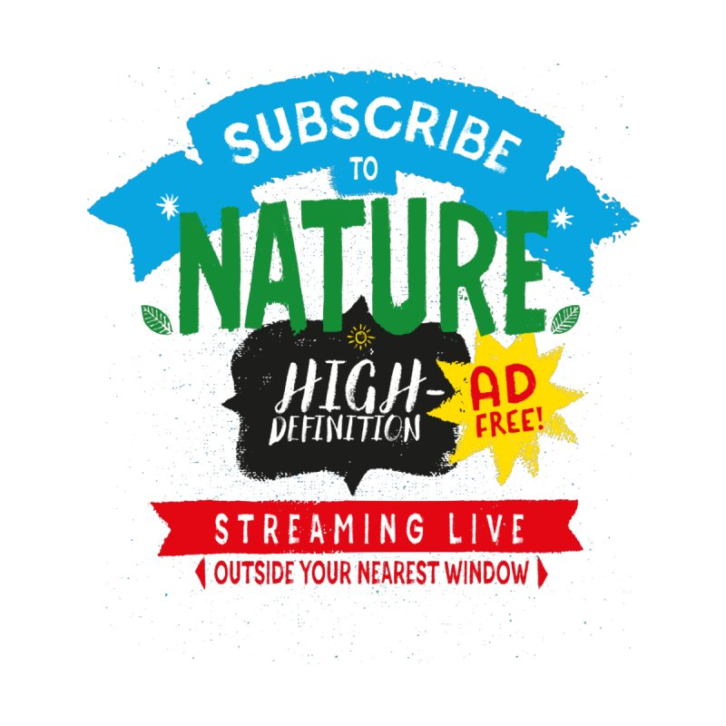 Nature! Live! Kids T-Shirt by Threadless Artist Shop