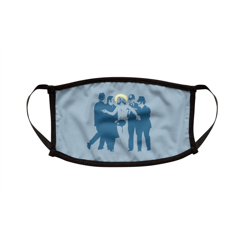 JC was a Streaker Accessories Face Mask by Threadless Artist Shop