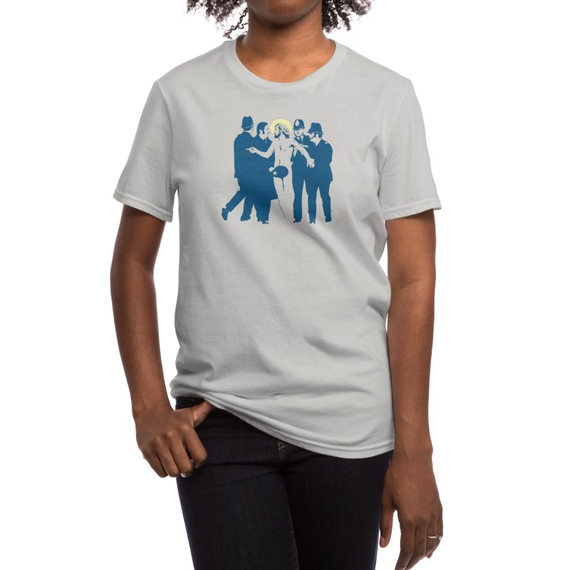 JC was a Streaker Women's T-Shirt by Threadless Artist Shop