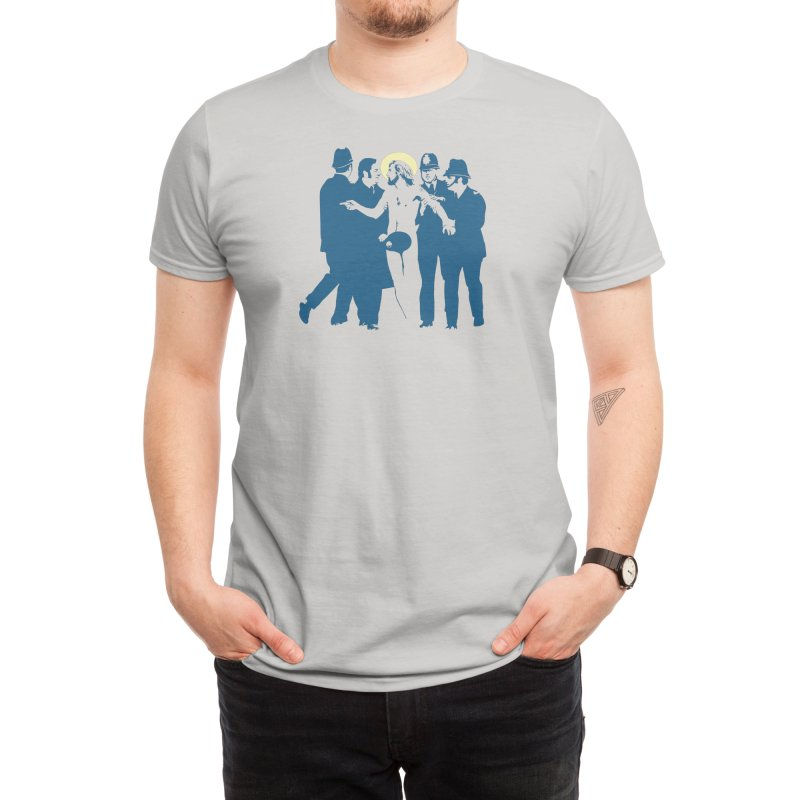 JC was a Streaker Men's T-Shirt by Threadless Artist Shop
