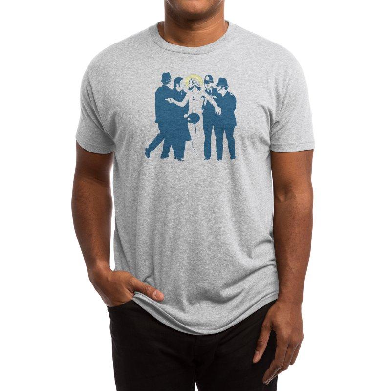 JC was a Streaker Men's T-Shirt by Threadless Artist Shop