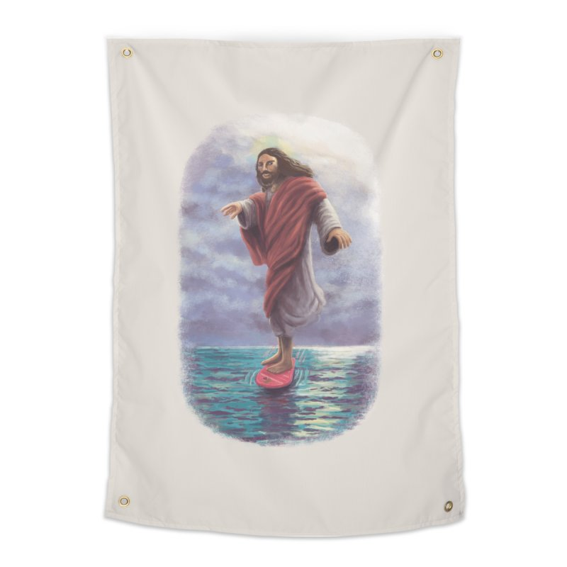 Jesus McFly Home Tapestry by Threadless Artist Shop