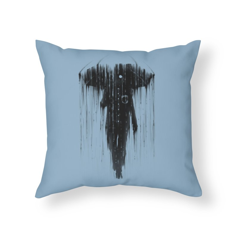 Negative Weather Home Throw Pillow by Threadless Artist Shop