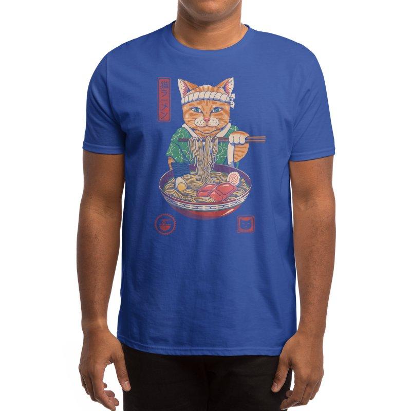 Neko Ramen Men's T-Shirt by Threadless Artist Shop