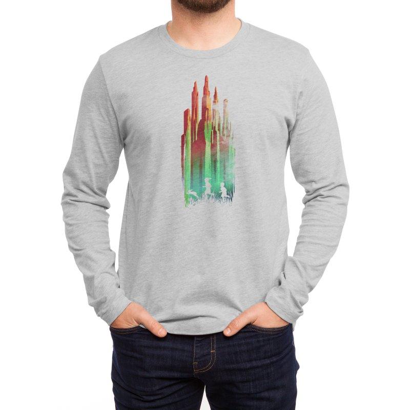 Journey to Emerald City Men's Longsleeve T-Shirt by Threadless Artist Shop