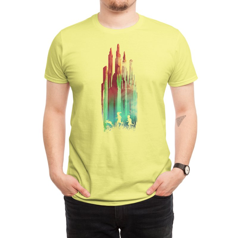 Journey to Emerald City Men's T-Shirt by Threadless Artist Shop
