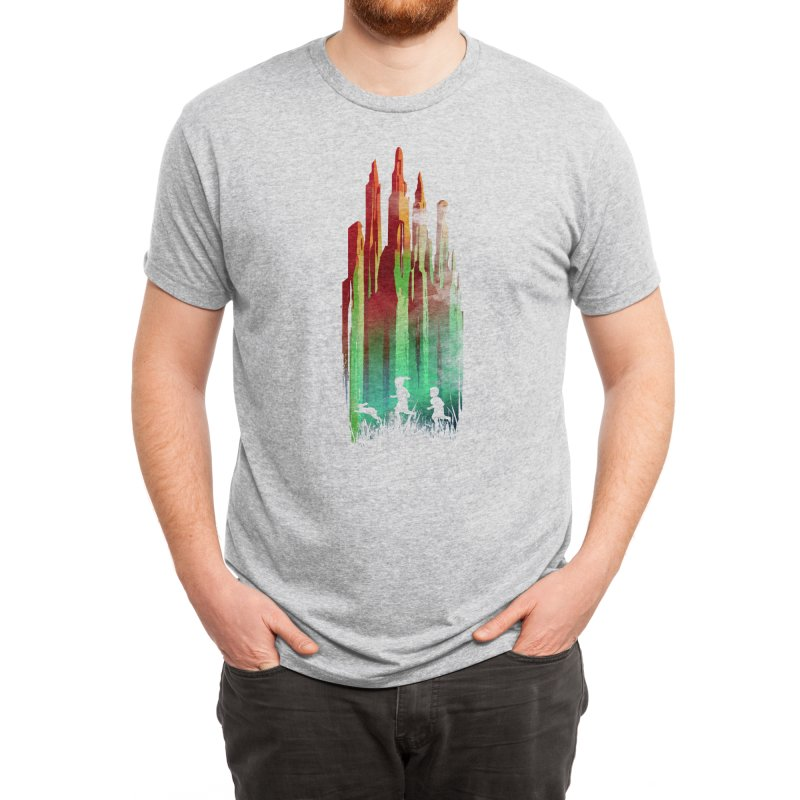 Journey to Emerald City Men's T-Shirt by Threadless Artist Shop