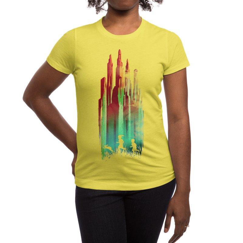 Journey to Emerald City Women's T-Shirt by Threadless Artist Shop