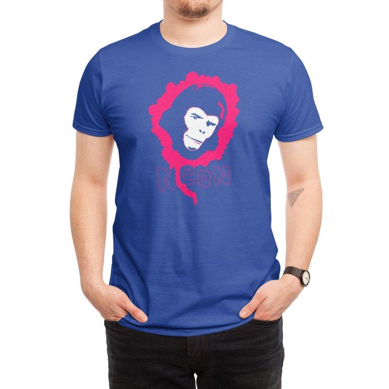 Neon Monkey Men's T-Shirt by Threadless Artist Shop