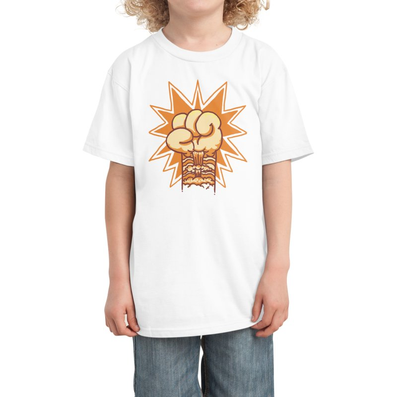 Kaboom fist Kids T-Shirt by Threadless Artist Shop