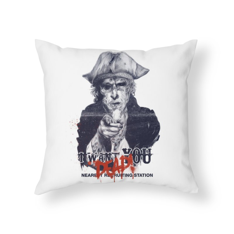 Join the Awesome Home Throw Pillow by Threadless Artist Shop