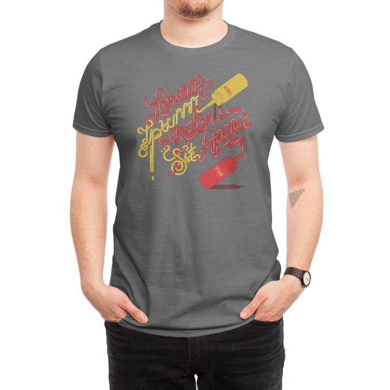 Ketchup And Mustard Men's T-Shirt by Threadless Artist Shop