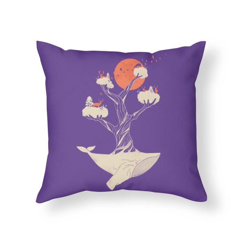 Daydream Home Throw Pillow by Threadless Artist Shop